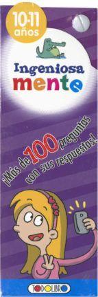 INGENIOSA MENTE 10-11 AÑOS