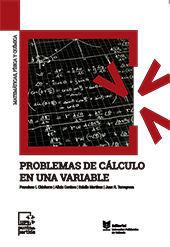 PROBLEMAS DE CALCULO EN UNA VARIABLE