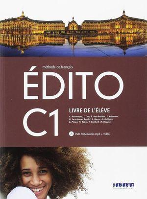 EDITO C1 ELEVE +DVD
