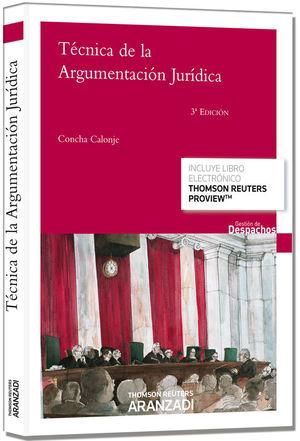 TÉCNICA DE LA ARGUMENTACIÓN JURÍDICA (PAPEL+E-BOOK)