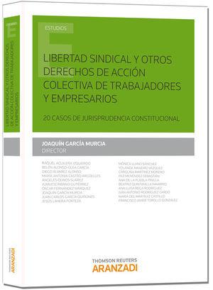 LIBERTAD SINDICAL Y OTROS DERECHOS DE ACCIÓN COLECTIVA DE TRABAJADORES Y EMPRESA