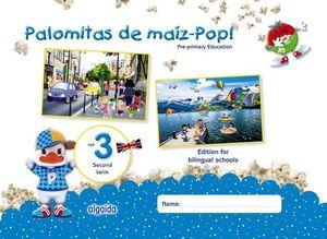PALOMITAS DE MAÍZ-POP!. PRE-PRIMARY EDUCATION. AGE 3. SECOND TERM