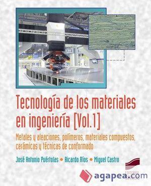 TECNOLOGÍA DE LOS MATERIALES EN INGENIERÍA