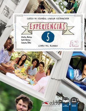 EXPERIENCIAS 5 (NIVEL A2) - LIBRO DEL ALUMNO