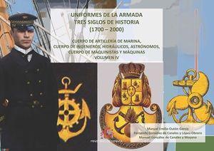 UNIFORMES DE LA ARMADA TRES SIGLOS DE HISTORIA (1700-2000)