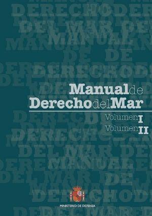 MANUAL DE DERECHO DEL MAR. VOLUMENES 1 Y 2