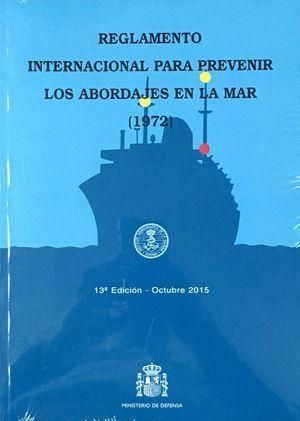 REGLAMENTO INTERNACIONAL PARA PREVENIR LOS ABORDAJES EN LA MAR, 1972