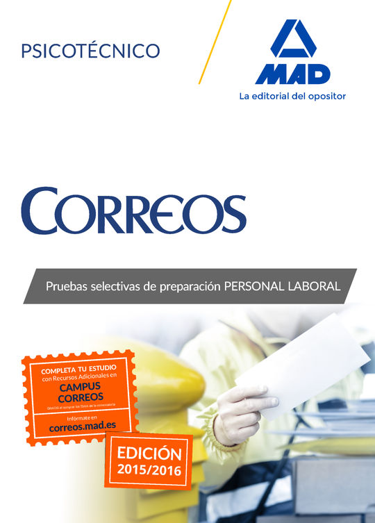 PERSONAL LABORAL CORREOS Y TELEGRAFOS PSICOTECNICO