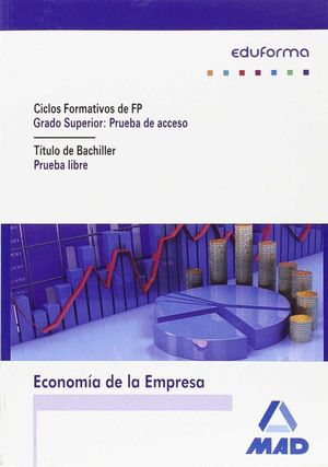 ECONOMIA DE EMPRESA. PRUEBAS DE ACCESO A CICLOS FORMATIVOS DE GRADO SUPERIOR.