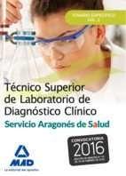 TÉCNICO SUPERIOR DE LABORATORIO DE DIAGNÓSTICO CLÍNICO DEL SERVICIO ARAGONÉS DE