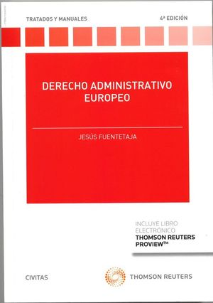 DERECHO ADMINISTRATIVO EUROPEO (PAPEL + E-BOOK)