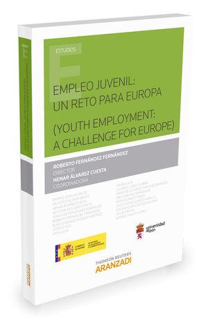 EMPLEO JUVENIL UN RETO PARA EUROPA YOUTH EMPLOYMENT A CHALLENGE FOR