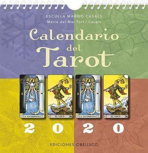 CALENDARIO DEL TAROT 2020 (CONTIENE PEGATINAS DE LOS ARCANOS)