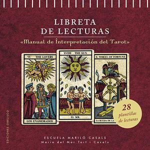 LIBRETA DE LECTURAS. MANUAL DE INTERPRETACION DEL TAROT