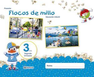 FLOCOS DE MILLO 3 ANOS. SEGUNDO TRIMESTRE