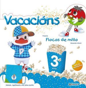 FLOCOS DE MILLO VACACIÓNS 3 ANOS