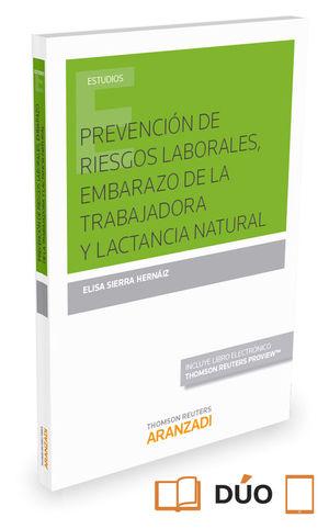 PREVENCION DE RIESGOS LABORALES, EMBARAZO Y LACTANCIA NATURAL (DU