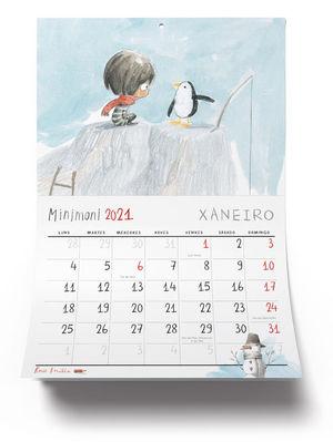 CALENDARIO MINIMONI E OS SEUS AMIGOS 2021