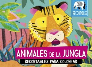 ANIMALES DE LA JUNGLA (RECORTABLES 3D PARA COLOREAR)