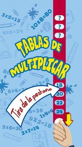 TABLAS DE MULTIPLICAR (TIRA DE LA PESTAÑA)