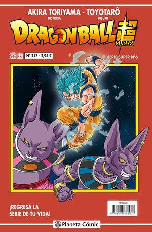 DRAGON BALL SERIE SUPER Nº 6
