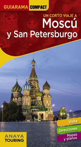 MOSCÚ Y SAN PETERSBURGO GUIARAMA COMPACT