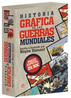 HISTORIA GRÁFICA DE LAS GUERRAS MUNDIALES (4 TITULOS)