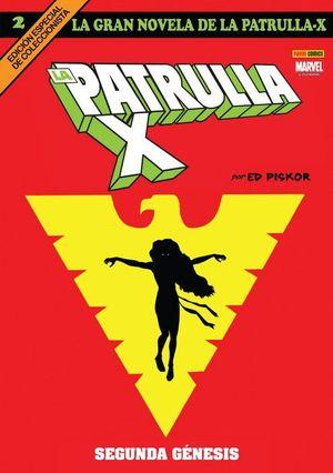LA GRAN NOVELA DE LA PATRULLA-X