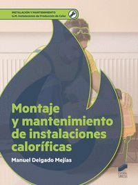 MONTAJE Y MANTENIMIENTO DE INSTALACIONES CALORIFICAS