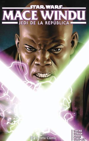 STAR WARS MACE WINDU. JEDI DE LA REPUBLICA