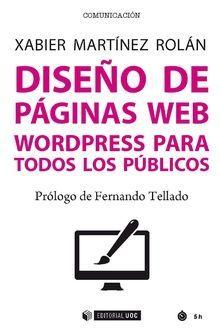 DISEÑO DE PAGINAS WEB. WORDPRESS PARA TODOS LOS PÚBLICOS