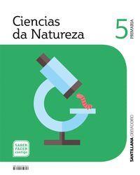 CIENCIAS DA NATUREZA 5 PRIMARIA SABER FACER CONTIGO