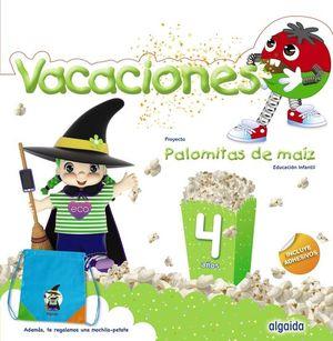 VACACIONES PALOMITAS DE MAIZ 4 AÑOS