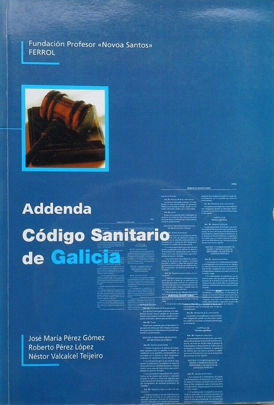 ADDENDA CÓDIGO SANITARIO DE GALICIA