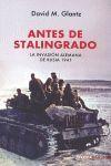 ANTES DE STALINGRADO