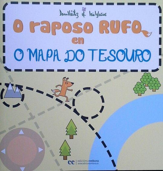 O RAPOSO RUFO EN O MAPA DO TESOURO