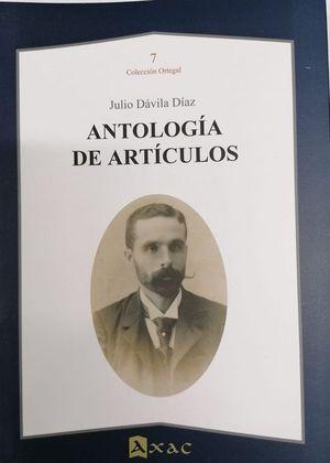 ANTOLOGÍA DE ARTÍCULOS