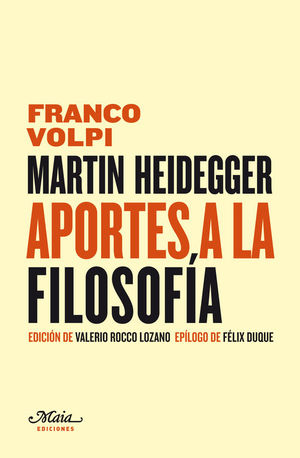 MARTIN HEIDEGGER APORTES A LA FILOSOFIA