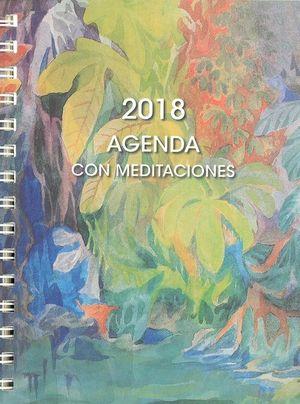 AGENDA 2018 CON MEDITACIONES