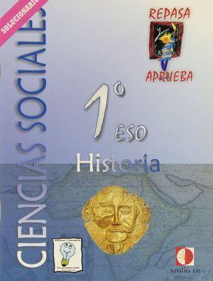 CIENCIAS SOCIALES, HISTORIA, 1 ESO. LIBRO DEL PROFESOR