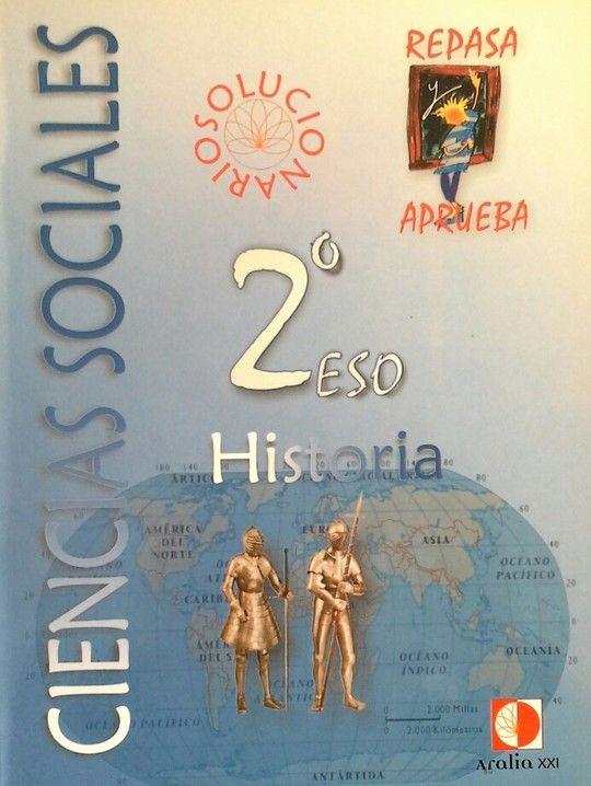 REPASA Y APRUEBA, CIENCIAS SOCIALES, HISTORIA, 2 ESO. LIBRO DEL PROFESOR