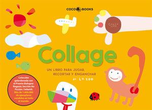 COLLAGE, UN LIBRO PARA JUGAR, RECORTAR Y ENGANCHAR