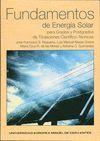 FUNDAMENTOS DE ENERGÍA SOLAR PARA GRADOS Y POSTGRADOS DE TITULACIONES CIENTÍFICO