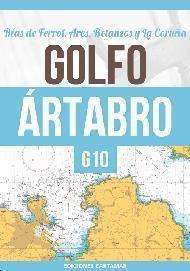 CARTA NÁUTICA G10. GOLFO ÁRTABRO: RÍAS DE FERROL, ARES, BETANZOS Y LA CORUÑA
