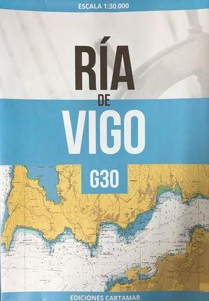 CARTA NÁUTICA G30. RÍA DE VIGO
