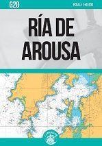 CARTA NAUTICA G20. RIA DE AROUSA (PLEGADA)