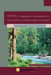 MF0799_3: LEG.Y DOC.EN PROCESOS CONTROL ORGANISMOS NOCIVOS
