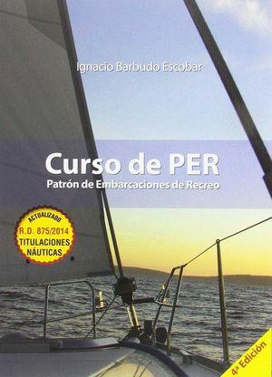 CURSO DE PER. PATRON DE EMBARCACIONES DE RECREO