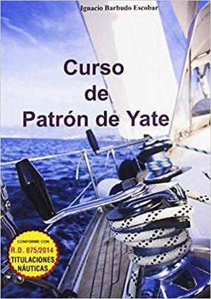 CURSO DE PATRON DE YATE