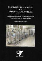 FORMACIÓN PROFESIONAL EN INDUSTRIAS LÁCTEAS